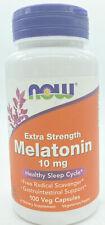 NOW Foods Melatonin 10mg, 100 Vegetable Capsules