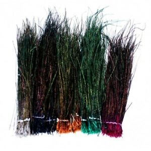 Peacock Herl Fly Tying Feathers. Choice of colours, Peacock Feathers