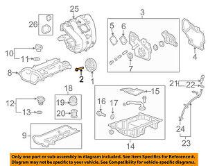 GM OEM Engine-Harmonic Balancer Bolt 11589123