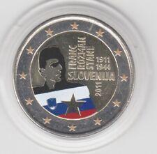 Slowenien  2 €  Rozman  2011  coloriert  Farbmünze
