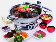 Authentic Electric Hotpot and BBQ Grill / Double Suki  (4.0L 1200W) - UK Seller