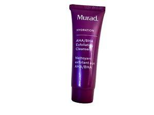 Murad AHA/BHA Exfoliating Facial Cleanser Triple Action 30ml - sealed no box