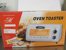 New Metal White Countertop Manual Toaster Bake Oven/Broiler 8L/Timer