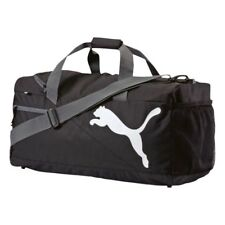 PUMA FUNDAMENTALS MEDIUM SPORTS BAG - BLACK