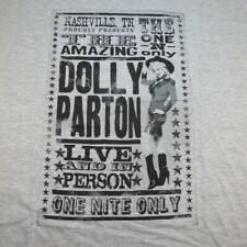New Dolly Parton Country Western Concert Tour Tee T Shirt Sz Mens Xxxl