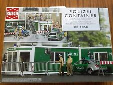 BUSCH HO SCALE 1/87 Mobile Police Station #1058