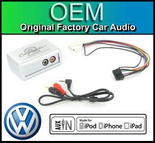 VW Polo AUX lead, Car stereo aux in iPod iPhone player adapter connection kit