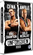 WWE Unforgiven 2005 DVD WWF Wrestling Cena vs Angle