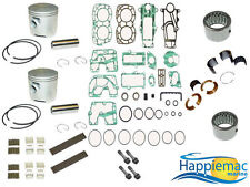 "Mercury 15 20 25 HP Powerhead Rebuild Kit 2.562"" Mercosil Piston Bearing Gasket"