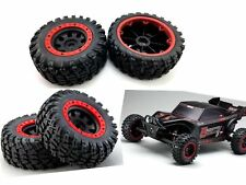 Kyosho 1/8 1/7 Rc car B-XXL Scorpion 30974 Tire and Wheels set 4pcs Buggy Truck