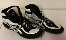 Asics Jy802 Split Second Vii Men Wrestling/ Boxing Shoes White/ Blk/ Silver/ 13