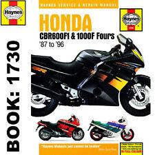 Honda Cbr600f1 Cbr1000f Fours 1987-96 Haynes Manual de taller