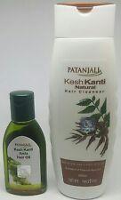 Swami Ramdev PatanjaliUK - Natural Shampoo 200ml + Kesh Kanti Amla Hair Oil 50ml