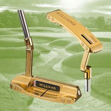 """Williams F1 Racing Golf FW16 Edition 24K plaqué or Golf Putter non"""" 0'"""