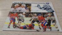 1985-86 Buffalo Sabres NHL Hockey Team-Issued Calendar