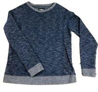 Carbon Blue Crew Neck Sweatshirt - Size Small