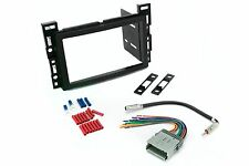 Scosche GM1599B Double Din Dash Kit for Radio Stereo Install w/ Wire Harness
