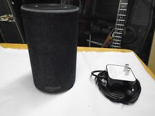 Amazon Echo 2nd Generation Smart Speaker W Alexa Dolby Sound Charcoal Blue Ring
