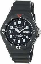 Casio Men's MRW200H-1BV Black Resin Dive Watch, New, Free Shipping