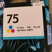 HP 75 Tri-Color High Yield Original Ink Cartridge