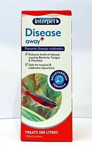 Interpet Disease Away- Prevents Disease Outbreaks 100ml