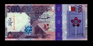 New! Qatar 2020 UNC 500 Riyals P-NEW