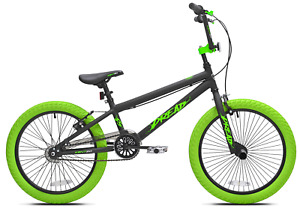 "20"" Dread Boys Outside BMX Bike With Pegs Front & Rear Breaks Kids Bicycle New"
