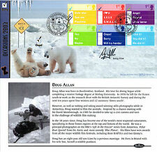 4 FEBRUARY 2003 OCCASIONS BENHAM FIRST DAY COVER HAND SIGNED DOUG ALLAN SHS