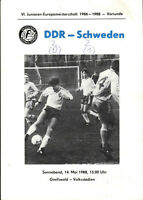 14.05.1988 DDR - Schweden, Junioren-EM in Greifswald, Mario Kern, Dynamo Dresden