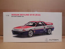 1/18 AUTOART NISSAN SKYLINE GT-R  # 1 RICHARDS / SKAIFE WINNER 1991 BATHURST