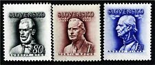 Slovakia Political Leaders 1943-4 Sc#83,93-94, Free Shipping,See Details! (6869)