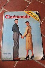 Cinémonde N° 1090 JUIN 1955 Simone SIGNORET et Yves MONTAND / Jean Claude PASCAL