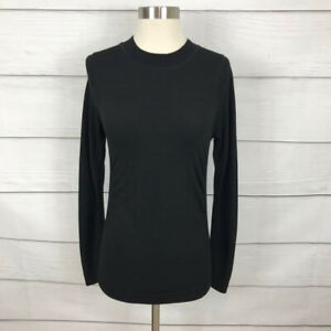 Athleta Foresthill Merino Wool Ascent Top Size Small S Long Sleeve Hiking Mesh