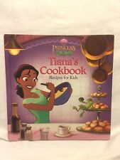 The Princess and the Frog - Tiana's Cookbook - Recipes for Kids Disney Princess