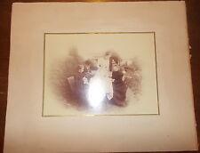 BELLE PHOTO SERVICE DU THE A CHATELLERAULT VERS 1880 PAR BRON