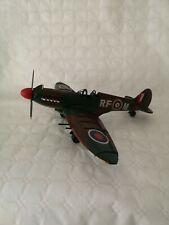 Metal Tin Plate Model - WW2 Spitfire Plane