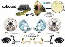 "Chevelle, Camaro, Nova Front Wilwood Disc Brake Kit 11"" Delco Moraine Booster"