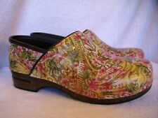 New Women's Dansko Pro XP Leather Vintage Floral Slip-On Clogs 42 US 11.5-12