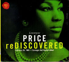 Leontyne PRICE Rediscovered 1985 Carnegie Hall DEBUT CD commerce Puccini Gershwin