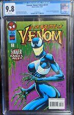 Venom Sinner Take All #3 CGC 9.8 WP  - 1st She-Venom! MCU.