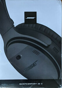 Bose QuietComfort 35 II Noir Casque Bluetooth sans Fil avec Réduction de Bruit