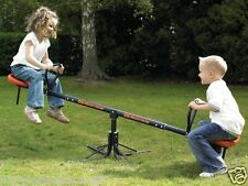 2 Child Seesaw See Saw Outdoor Ages 3 and Up Jungle Gym Swingset Swing Set