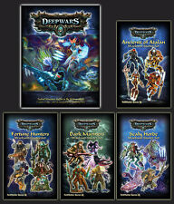 DeepWars - Gamemaster Bundle Deal  - all four Warband starters with rulebook