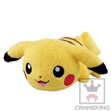 Banpresto Pokemon Relaxation Time Big Pikachu Stuffed Plush Doll 25cm BANP36964