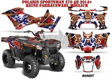 AMR Racing DECORO GRAPHIC KIT ATV POLARIS SPORTSMAN modelli Bandit B