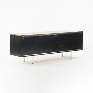 1960 George Nelson 8000 Series EOG Credenza for Herman Miller with Walnut Top
