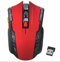 2.4GHz Wireless Optical Mouse Gamer New Game Wireless Mice with USB Receiver Mau