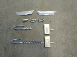 Ford Galaxie Custom 500 Emblems 1964 Only