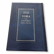 Spanish & Hebrew Torah Libro Oración Judío Española Pentateuco