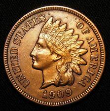 1909-S Indian Head Penny, Key Date! AU+++